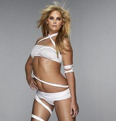 Whitney! Yay for plus-size models :)