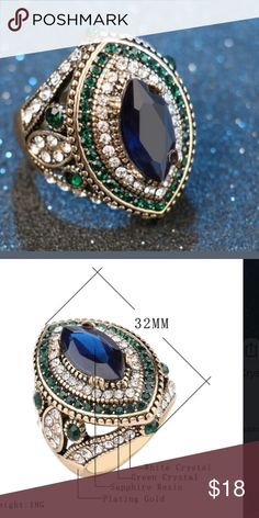 New antique style ring size 8 Bundle up and save Jewelry Rings