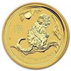 Lunar 2016 1/10 troy ounce gouden munt