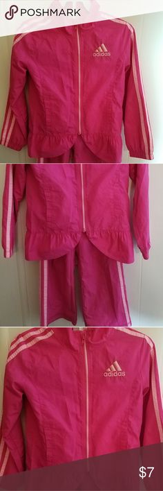 Adidas girls running suit Pink Adidas girls Adidas Bottoms Sweatpants & Joggers