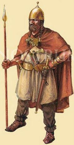 Celtic Warrior mercenary in the Bosphorus, 1st. c. BC   Kwatera ...