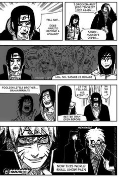 Naruto will go on forever, it will never end and this is the outcome... lol…