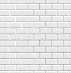 Metro Glazed Ceramic Tiles Seamless Texture White Tile Brick