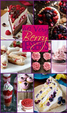 40 Very Berry Desserts