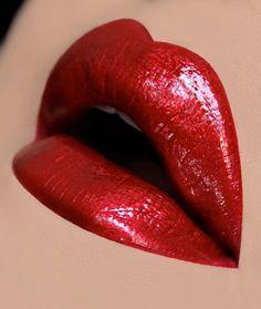 Smashbox Cosmetics Be Legendary Liquid Lip - Crimson Chrome ♡