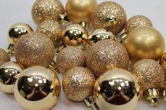 Amazon.com - 20 Holiday Time Mini Shatterproof Satin Shiny and Glitter Finish Bulb Christmas Ornaments (Pink & Purple) -