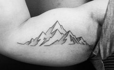 Mountain Outline Tattoo by ofrick                                                                                                                                                                                 More