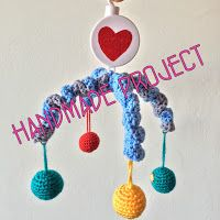 the ordinary diary: Handmade project - musical mobile for baby crib tu...