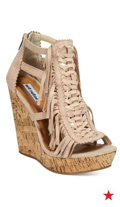 8cb6beea71 Making a trip to the beach? Platform wedges like these can do double duty  for