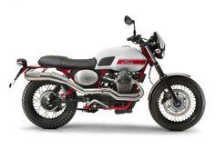 Moto Guzzi V7 II Stornello: Auch mit der Scrambler V7 II Stornello haut Guzzi...