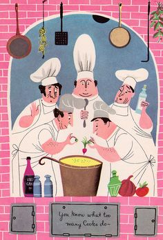 The Fireside Cook Book, illustrated by Alice and Martin Provensen (via my vintage book collection (in blog form))