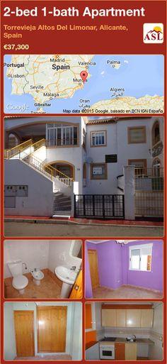 Apartment for Sale in Torrevieja Altos Del Limonar, Alicante, Spain with 2 bedrooms, 1 bathroom - A Spanish Life Apartments For Sale, Valencia, Torrevieja, Alicante Spain, Bus Station, Bus Stop, Shopping Center, Ground Floor