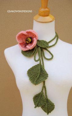 Poppy Lariat-Blush by gsakowskidesigns on Etsy