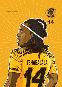 Iwisa Kaizer Chiefs Players_Poster Collection_Siphiwe Tshabalala
