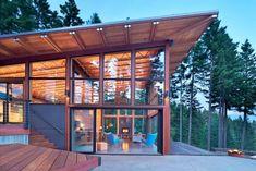 Beautiful Houses: Base Camp in Washington State | Abduzeedo Design Inspiration