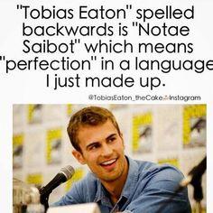 Tobias Eaton=Perfection. Period. I love Divergent <3