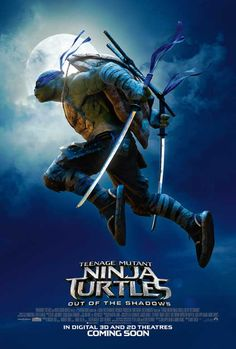 Teenage Mutant Ninja Turtles: Out of the Shadows (2016) 27x40 Movie Poster
