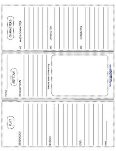 Book Report Trifold Use With Any Novel - Ruth S. - TeachersPayTeachers.com