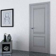 Interior and exterior doors by MilanoDoors, contemporary italian doors, modern wood doors. Modern Wood Doors, Modern Front Door, Contemporary Doors, Grey Interior Doors, Modern Interior, Interior And Exterior, Italian Doors, Doors Online, Painted Doors