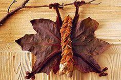 So basteln Sie eine witzige Fledermaus aus Naturmaterialien, z.B. indem Sie mit Bucheckern basteln. Basteln mit Naturmaterial macht richtig Spaß - probieren Sie's aus! © Christophorus Verlag