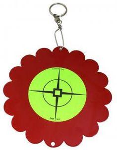 Shoot-N-Spin airgun target