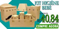 Essa é a Hora de Comprar Kit bebê!! Acesse o site e confira essa e muitas outras ofertas! www.palaciodaarte.com.br