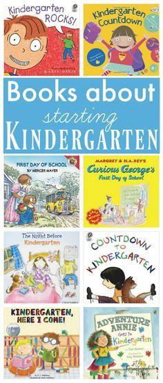 Kindergarten books t