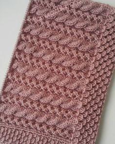 Knitting Models + Best Knittings From Ma - Diy Crafts Knitting Daily, Knitting Stiches, Easy Knitting Patterns, Lace Knitting, Knitting Designs, Stitch Patterns, Crochet Patterns, Afghan Patterns, Diy Crafts Knitting