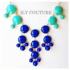 ILY couture bauble necklace