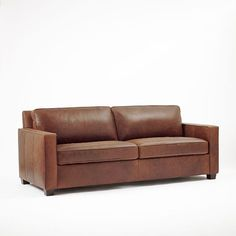 """Henry Leather Sofa 