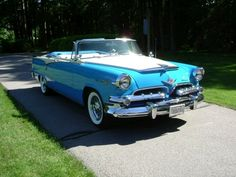 Dodge Custom Royal Lancer Convertible blue - 1955 - Picture 04GP3471807077A