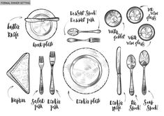 Table Manners for Kids! And a Meal Time Rules Printable - Super Healthy Kids Etiquette Classes, Dining Etiquette, Etiquette Dinner, Teaching Manners, Teaching Tips, Teaching Tables, Formal Dinner Setting, Manners For Kids, Good Table Manners
