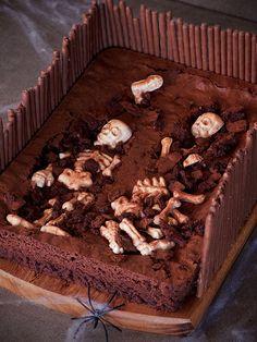"""Brownie Halloween """"Dulce Cementerio"""""""