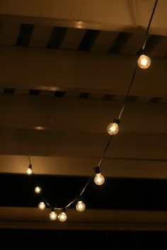 we now offer café lighting for an extra charge at our weddings. over 200 bulbs that go over the pool!