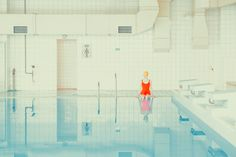 Painting-Like Swimming Pool Photography