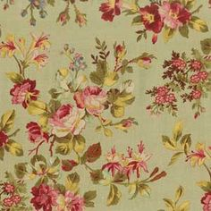 WELLESLEY FLORAL FABRIC