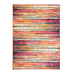 Found it at Wayfair - Splash Rug Multi-Colored Brushstrokes Area Rug