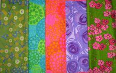 Vintage Marjatta  Metsovaara Fabrics. Nice collection.