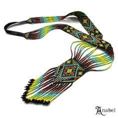 Гердан готов #гердан  #гайтан #бисер  #украшение  #jewelry  #beadwork  #splitloomnecklace #beadloom  #beadedjewelry  #beadednecklace