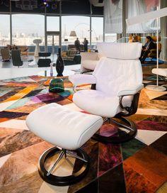 Relax + pouf Metro - meubles en Belgique  - Selection Meubles, Amougies, mobilier