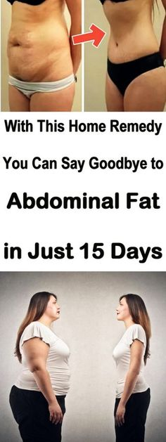 Home remedy for abdominal fat. #abdominalfat #bellyfat #homeremedy