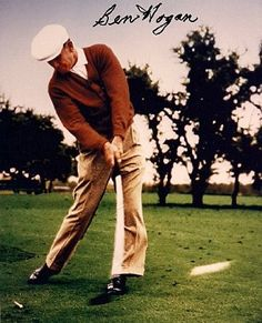 William Ben Hogan (August 13, 1912 – July 25, 1997) was an American professional #golfer, generally considered one of the greatest players in the history of the game. Born within six months of two other acknowledged golf greats of the twentieth century, Sam Snead and Byron Nelson, Hogan is notable for his profound influence on the #golfswingtheory and his legendary ball-striking ability, for which he remains renowned among players and fans.