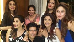 Beautiful ladies at Manish Malhotra bday bash
