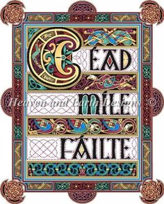 A Hundred Thousand Welcomes - wish there were a pattern for this in cross stitch