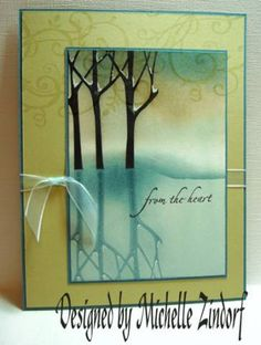 Still Winter Card - Zindorf by Zindorf - Cards and Paper Crafts at Splitcoaststampers