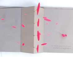 Pop up book // What am I ? by Talia Douaidy, via Behance