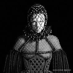 alexander mcqueen fw campaign3 800x800 Edie Campbell Gets Regal for Alexander McQueen Fall 2013 Campaign by David Sims