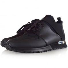 Mallet Black BTLR Runners Dress With Sneakers, Runners, Men's Footwear, Over Knee Socks, Runner Rugs