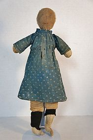 Early hand sewn true rag doll, just the best