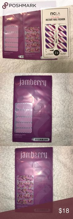 Nail wraps by Jamberry and ncla Los Angeles Nail wraps by Jamberry and ncla Los Angeles, all brand new, bundle of 3 jamberry Accessories